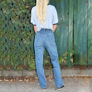 VINTAGE LEVI'S Orange Tab Denim Blue Jeans Sz 16